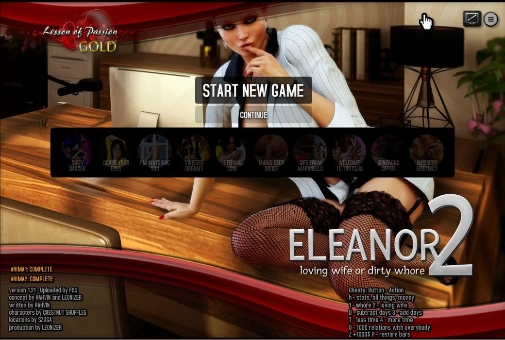 Eleanor 2: Loving Wife or Dirty Whore