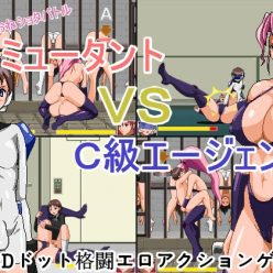 Size Fetish One x Shota Battle! Female Mutant VS C Rank Agent