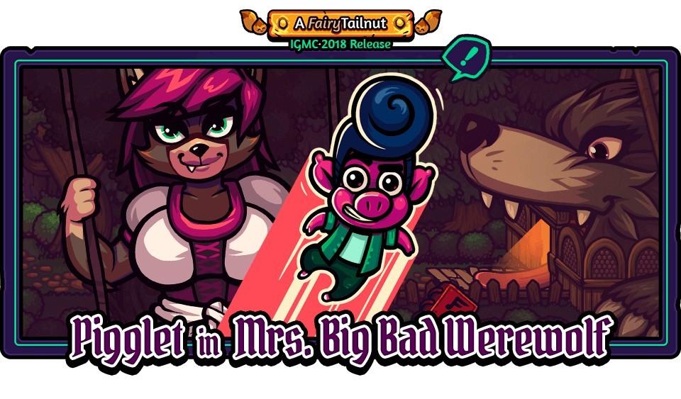 Pigglet in Mrs. Big Bad Werewolf