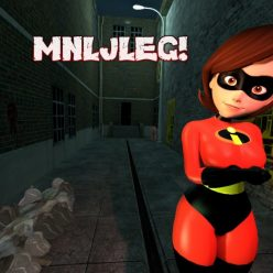 My Neighbor Looks Just Like Elasti Girl!